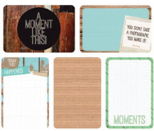 "Captured Moments - 4""X 6""  Double-Sided Cards - Base Coat"