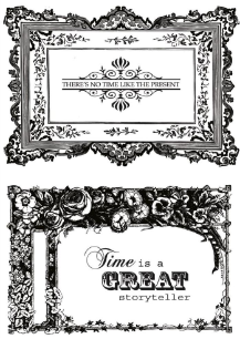 Miss Empire  - Kaisercraft - Frames - Clear Stamps