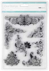 Fancy Flourishes  - Kaisercraft - Clear Stamps