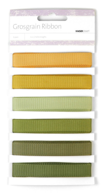 Grosgrain Monochromatic Ribbon - Earth