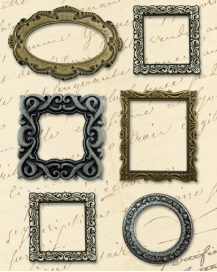 Life's Journey Metal Art  Frames