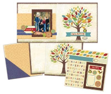Little Yellow Bicycle - Hello Fall - Family Tree Page Kit
