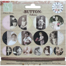 Melissa Frances - Adopted Ancestors - Chipboard Buttons