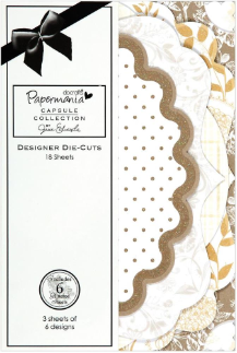Papermania - Lincoln Linen - Designer Die-Cuts