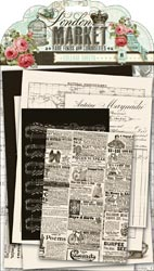 London Market - Collage Sheets