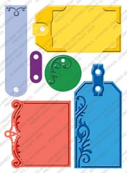 "Cuttlebug 5"" x 7"" Embossing Plus - Embossed Tags"
