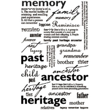 Memory Sentiments - Rub Ons