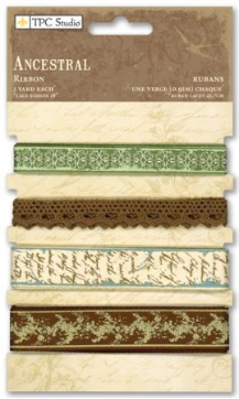 Ancestral Collection - Ribbon (4 Styles, 1 Yard each)