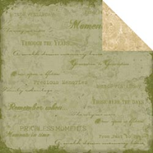 Ancestral Collection - Moments in Time 12 x 12 Double-Sided Paper