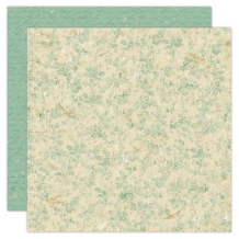 Ancestral Collection - Bird Brocade 12 x 12 Double-Sided Varnish Paper