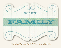 "So Sophie - Charming ""We Are Family "" -  Title"