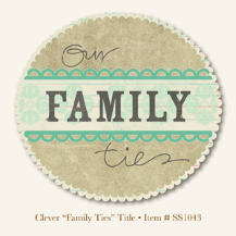 "So Sophie - Clever ""Family Ties"" -  Title"