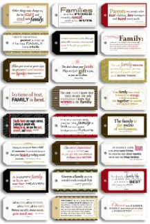 7 Gypsies - Family Qoutes - Tag Pack