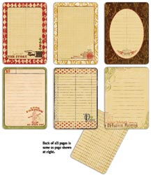 7 Gypsies - Gypsy Journal Pages