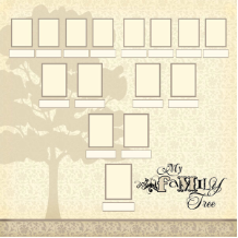 "Scrapbook Customs - Family History My Family Tree - 12"" x 12"""