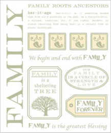 SRM Stickers - Family Tree