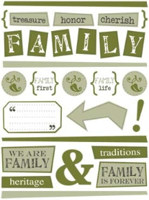 SRM Stickers - Family Free Style