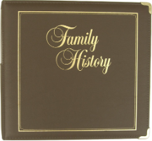 Family History Executive Binder - Brown