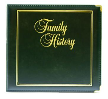 Family History Executive Binder - Forest Green