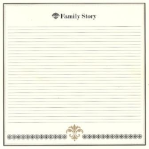 Bazzill Heritage Printed Paper - Family Story