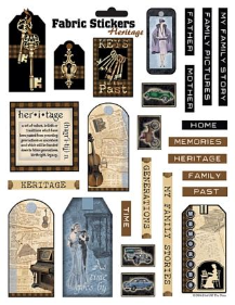 Heritage Stickers - Fabric Stickers