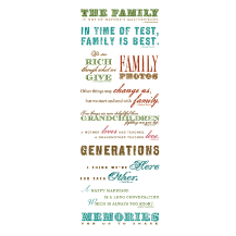 AC Words & Quotes Rub-On Transfers - ancestry.com