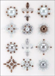 Prima Marketing - Say It In Pearls Self-Adhesive Embellishments