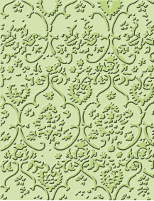 Cuttlebug A2 Embossing Folder - Textile