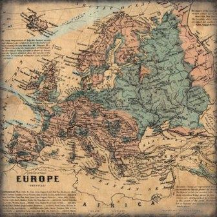"Scrapbook Customs - Europe - 12"" x 12"""
