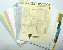 Family History Deluxe Organizational Kit D