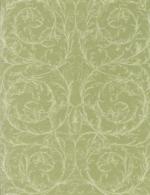 "Light Green Swirls 8.5"" X 11"""