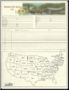 "Family - 8.5"" X 11"" - Migration Map & Chart"