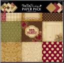 Bella! Boutique Family 12 x 12  Paper Pack