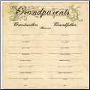 For The Record Collection - Grandparents Chart