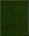 "Green Swirls 8.5"" x 11"""