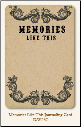 Life Stories - Journaling Card - Memories Like This
