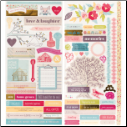 Dear Lizzy 5th & Frolic Remarks Cardstock Stickers