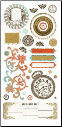 Basic Theme - Cardstock  Stickers - Heritage Elements