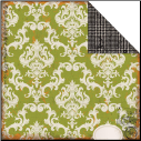Chillingsworth Manor Collection - Green Damask