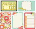 "Captured Moments - 4""X 6""  Double-Sided Cards - Favorite Things"
