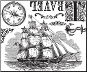 Almanac Collection - Travel #2 - Clear Stamps