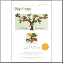 Family Tree Duo Applique & Embroidery Pattern