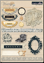 Teresa Collins - Vintage Finds Layered Stickers