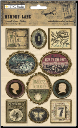 TPC Studio - Memory Lane - Framed Dome Stickers - Phrases & Icons