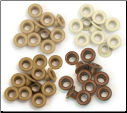 Eyelets - Standard Brown - We R Memory Keepers