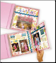 "12"" X 12"" Memory Book Panoramic Fold-Out"
