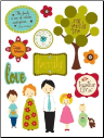 Design Shop Stickers - Family