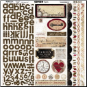 "Timepiece - Combo Stickers 12""X12"" Sheet"