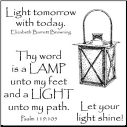 Inky Antics - Shining Lantern - Clear Stamps