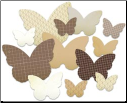 Studio Calico - Butterflies Chip Shapes